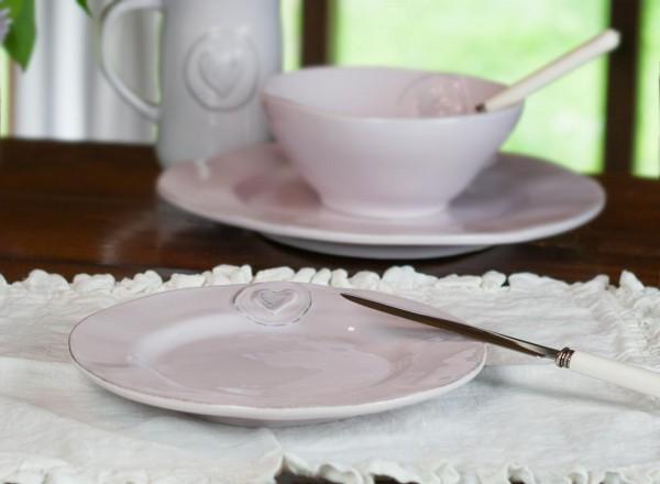 Lilli-flieder Dessert-Teller