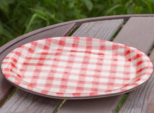 Picknick Essteller rot
