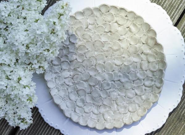 Sabina Dessertteller nougat-hell