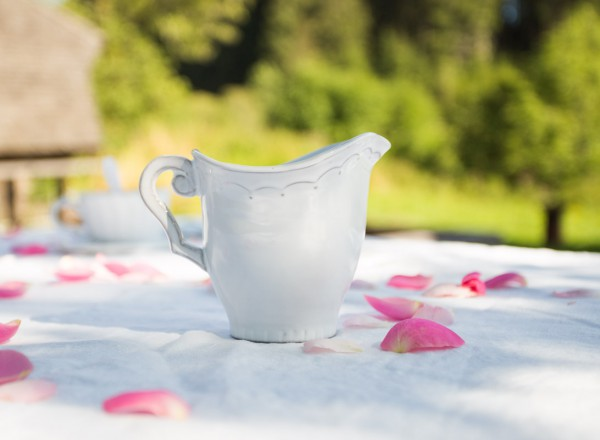 Romantik Milchkanne