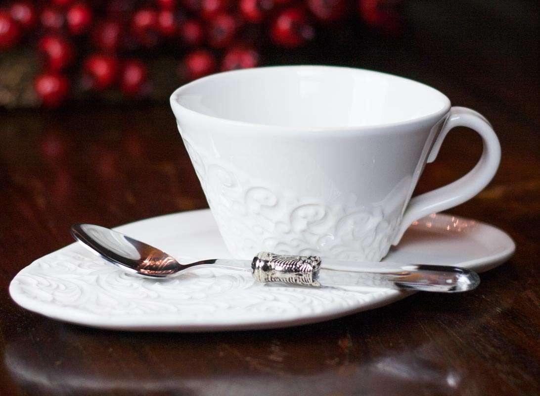 Geschirr Landhausstil emilie teeset weiß emilie kaffeegeschirr landhausgeschirr de