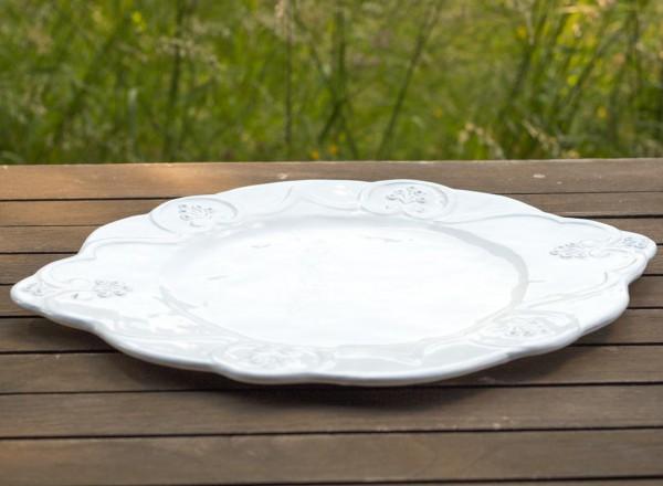 Romantik Platzteller oval
