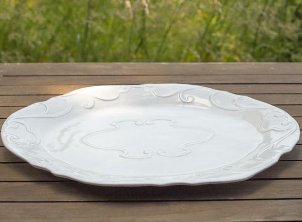 Romantik Platte oval